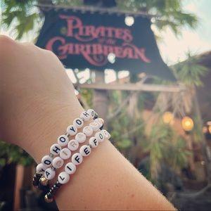 Yo Ho Yo Ho A Pirates Life For Me Disney Inspired Bracelet Stack